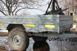 Полуприцеп самодельный на базе УАЗ